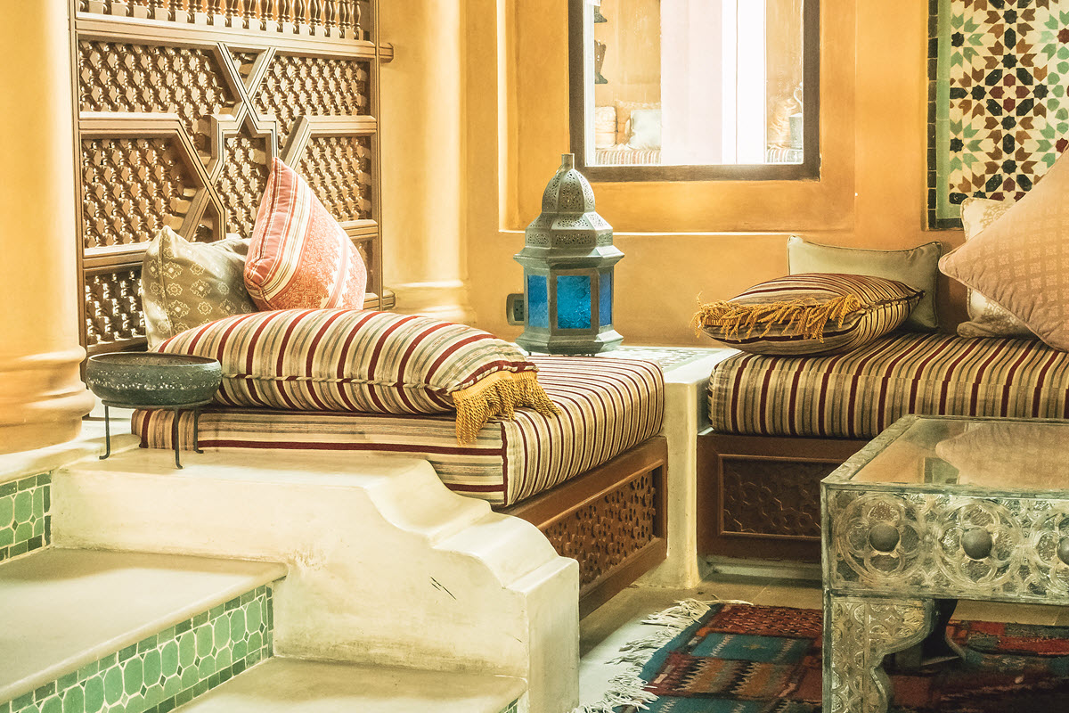 Middle Eastern Interior Design Ideas Moroccan Cushions